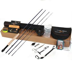 7-8WT Fly Fihsing Combo 8wt Carbon Fiber Fly Rod with Reel a