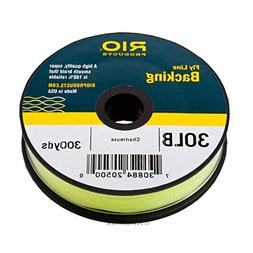 Rio: Flyline Backing, 30lb 300yd Chartreuse