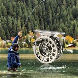 Aluminum Fly Fishing Reel Right Handed Smooth Rock Ice Fishi
