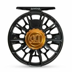 Ross Animas Fly Reel - Size 5/6 - Color Matte Black - NEW -