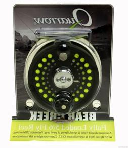 QUARROW BEAR CREEK FULLY LOADED 5/6 FLY REEL WITH BACKING, F