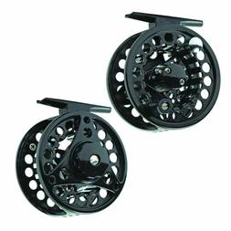 Eagle Claw Black Eagle Lightweight Aluminum Cast Fly Reel -