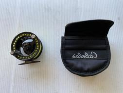 Cabela's RLS1  Fly Reel With Fly Line and Case