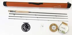 "Cortland Competition Nymph Fly Rod 10' 6"" 3wt 4p Outfit w/Li"