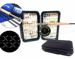 Fly Fishing Combo - Rod / Reel / Line / Leader with Fly Box