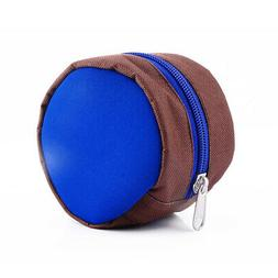 Fly Fishing Zippered Reel Pouch Sponge Cover Protective Case