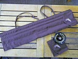 Fly Rod & Reel Storage Pouches *NEW* Handmade bag / case. Ca