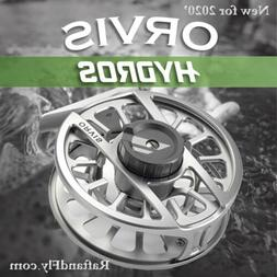 Orvis Hydros III Fly Reel 5-7wt Silver -  - FREE SHPPING