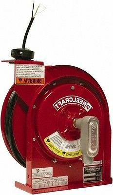 Reelcraft 12 AWG, 45' Cable Length, Cord & Cable Reel with F