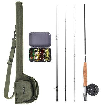 9 fly fishing rod and reel combo
