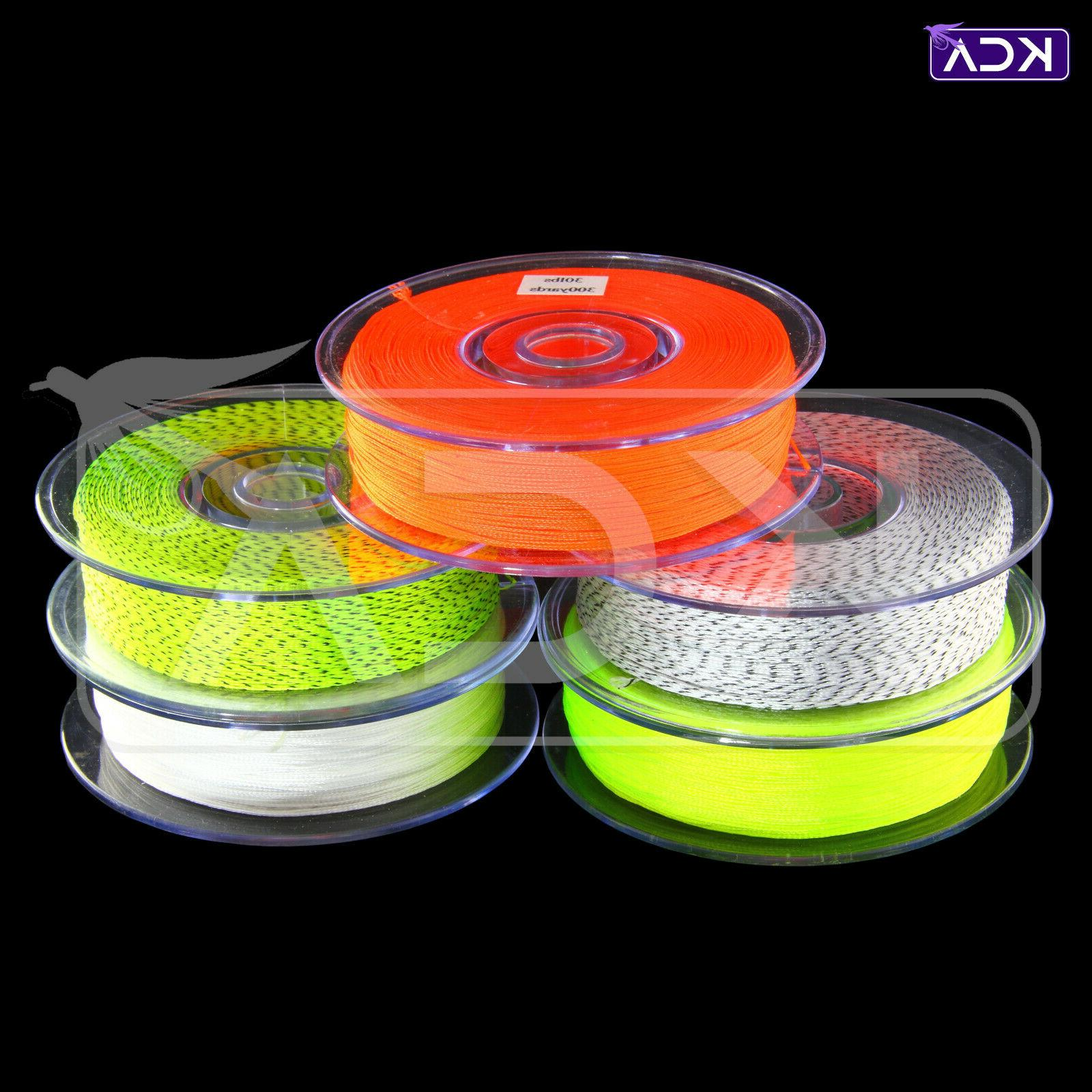 braided fly line backing 30lb 300yds fly