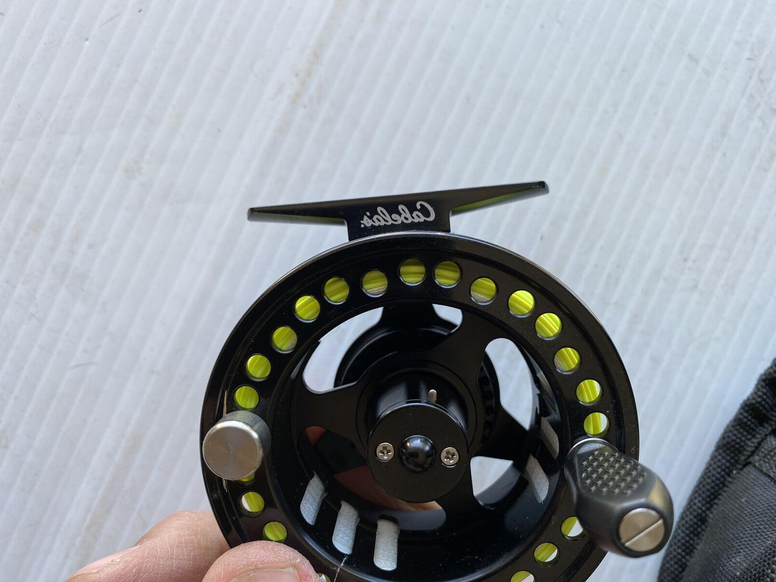 Cabela's Fly Reel With Fly Line Case