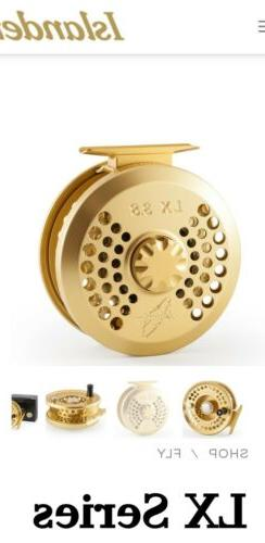 Islander Fly Reel New Model LX 3.8 NEW!  Large Arbor, Not Ti