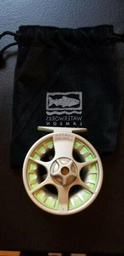 Lamson Liquid 2 fly reel with Rio fly line