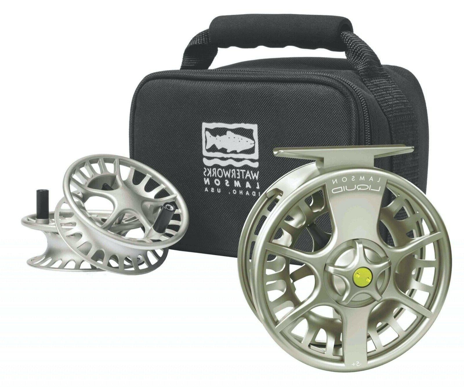 liquid 3 pack fly reel and 2