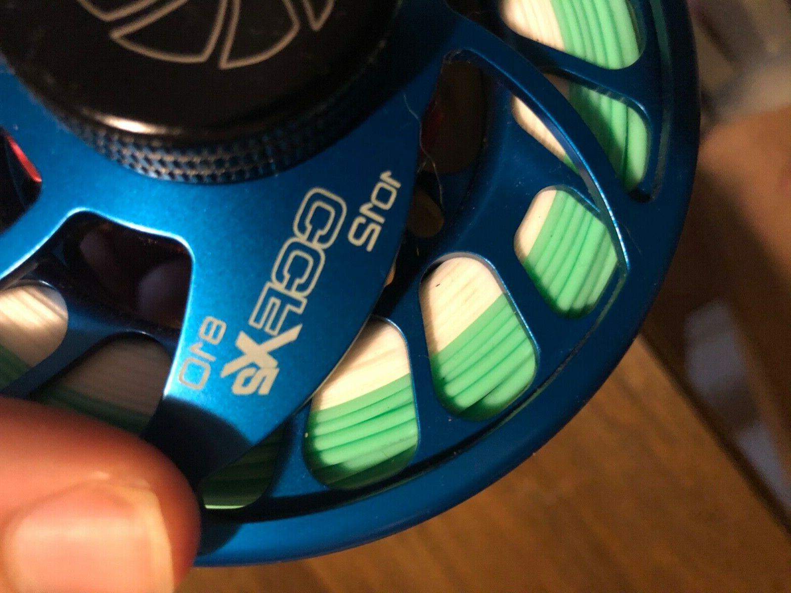 NEW NAUTILUS CCF-X2 10/12 wt Reel With Fly Line