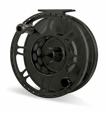 pacific fly reel black new free fly
