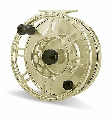 pacific fly reel gold new free fly
