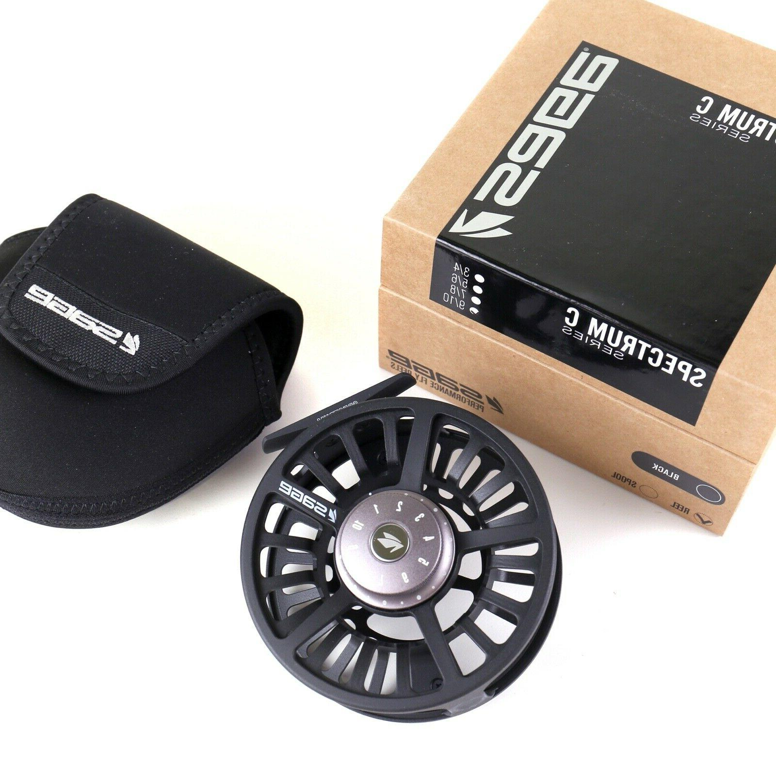 Sage Reel Black ALL SIZES - SHIPPING