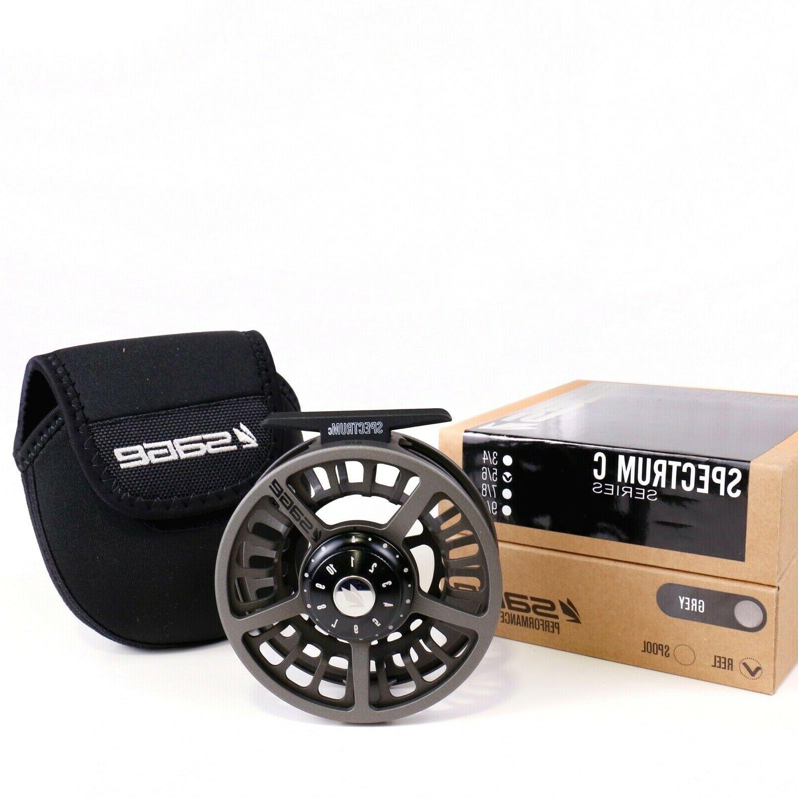 Sage Fly Reel Grey ALL BACKING SHIPPING