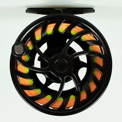 Temple Outfitters TFO NXT Large Fly Reel with Fly Line