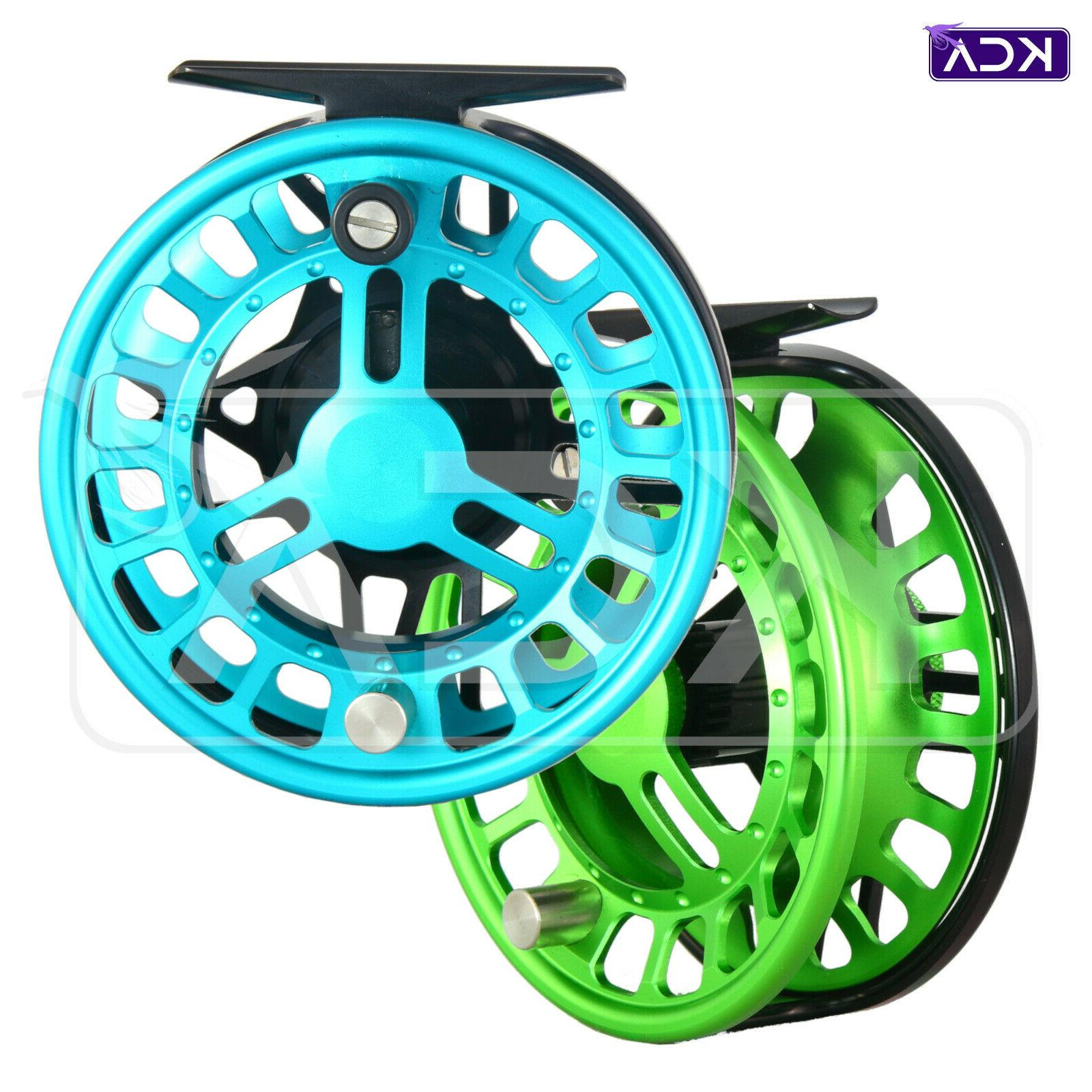 timefly 7 8wt cnc machined fly reel