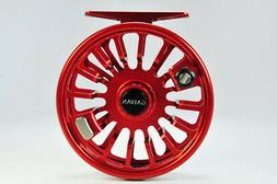 LIMITED EDITION GALVAN T-10 TORQUE FLY REEL RED FOR 9/10 WT