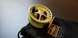 Lamson Liquid 1.5 fly reel with Rio fly line