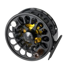 NEW BAUER RX-4 MICROSPEY FLY REEL BLACK FOR 3-5 WEIGHT SPEY