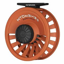 NEW REDINGTON BEHEMOTH #5/6 WEIGHT FLY REEL IN HUNTER ORANGE