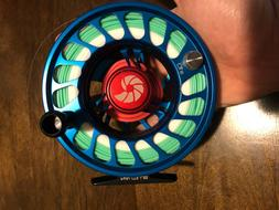NEW NAUTILUS CCF-X2 10/12 wt Fly Reel With Fly Line and Back