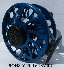 NEW NAUTILUS CCF-X2 6/8 #6/7/8 WT. FLY REEL RARE CUSTOM BLUE