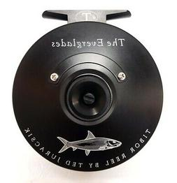 NEW TIBOR EVERGLADES FROST BLACK WITH BONEFISH ENGRAVING #7-