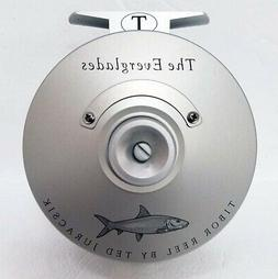 NEW TIBOR EVERGLADES FROST SILVER WITH BONEFISH ENGRAVING #7