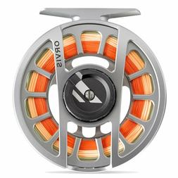 NEW ORVIS HYDROS II FLY REEL IN SILVER FOR 3, 4 OR 5 WT ROD