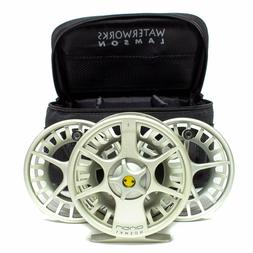 NEW LAMSON LIQUID -9+ FLY REEL IN VAPOR FOR 8, 9 OR 10 WEIGH