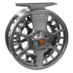 NEW LAMSON LIQUID -5+ FLY REEL IN SMOKE FOR 4, 5 OR 6 WEIGHT