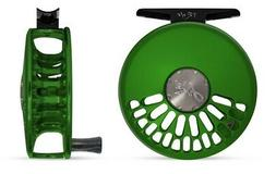 NEW ABEL TR 5/6 CLICK DRAG #5/6 WEIGHT FLY REEL IN GRASS GRE