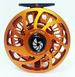 NAUTILUS NV G-8/9 #8/9 WEIGHT FLY REEL RARE CUSTOM ORANGE RI