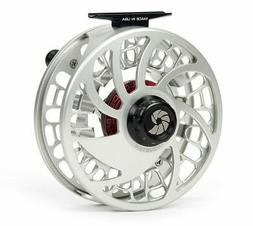 NAUTILUS NV MONSTER 12 WEIGHT FLY REEL SILVER LEFT HAND RETR