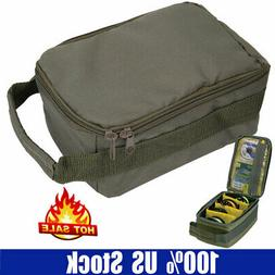 Portable Outdoor Fishing Reel Storage Bag Case Fly Tackle Ge