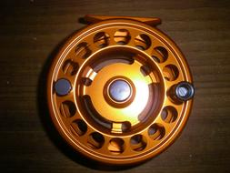 GALVAN RUSH LIGHT LT R-10 FLY REEL ORANGE 10/11 WT ROD USA M