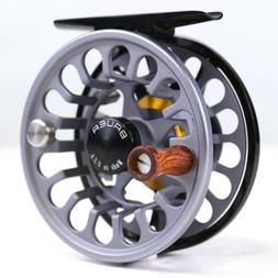 Bauer RX Fly Reel Charcoal - ALL SIZES - FREE FLY LINE - FRE