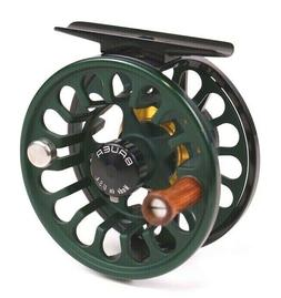 Bauer RX Fly Reel Dark Green - ALL SIZES - FREE FLY LINE - F