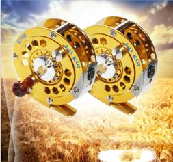 Saltwater Fly Reel 3/4 5/6 7/8WT CNC Machined Aluminum Fly R