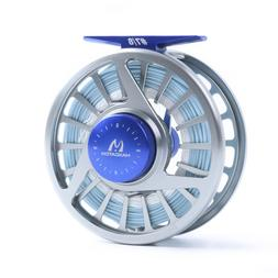 Saltwater Fly Reel with Line 7/8wt Fly Fishing Reel WF8F Sea