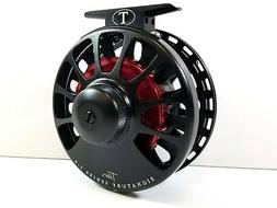 Tibor Signature Custom Shop 7/8 Fly Reel - Frost Black/Red H