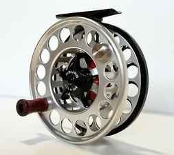 Bauer SST-8 Fly Reel - Size 7/8/9 - Black/Clear - NEW - Clos