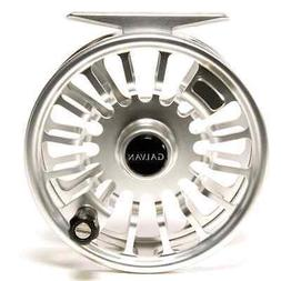 GALVAN T-3 TORQUE 3 FLY REEL CLEAR SILVER FOR 2/3 WT ROD USA