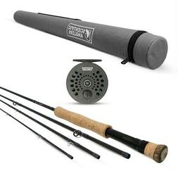 Scientific Anglers Trout Fly Fishing  Kit w/ Graphite Rod +